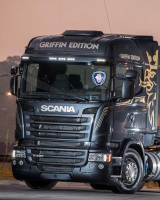 Scania R480 Truck - Obrázkek zdarma pro 480x800