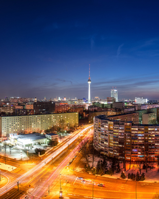 Berlin City Center - Obrázkek zdarma pro Nokia 300 Asha