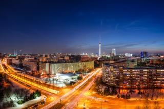 Berlin City Center - Obrázkek zdarma pro Nokia Asha 201