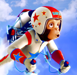 Space chimps - Obrázkek zdarma pro 128x128