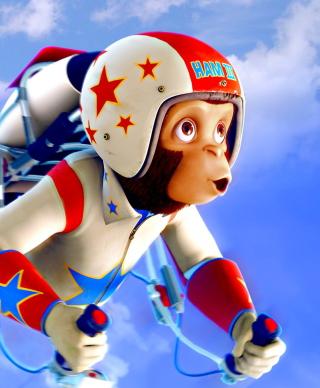 Space chimps - Obrázkek zdarma pro Nokia C2-05