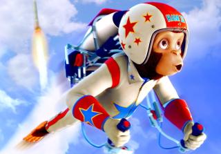 Space chimps - Obrázkek zdarma pro 1600x1280