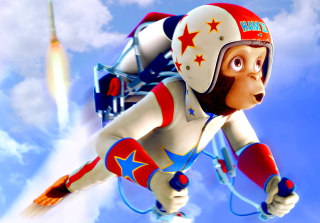 Space chimps - Obrázkek zdarma pro Sony Xperia Z3 Compact