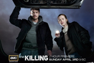 The Killing Wallpaper for Android, iPhone and iPad