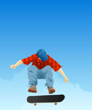 Skater Boy - Obrázkek zdarma pro Nokia Asha 503