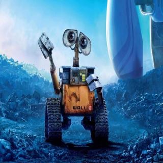 Wall-E - Obrázkek zdarma pro iPad Air