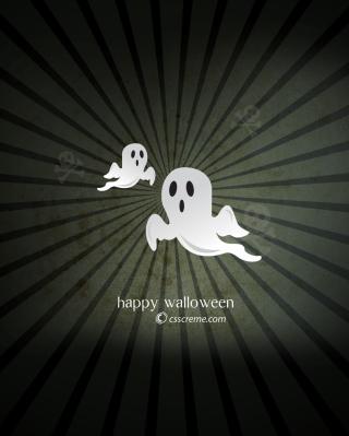 Halloween Phantom - Obrázkek zdarma pro Nokia Asha 305