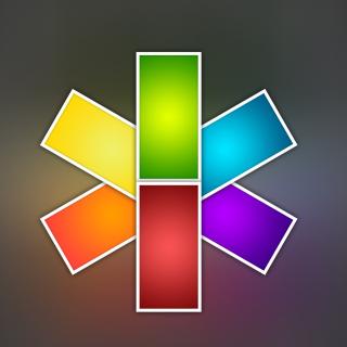 Color Kaleidoscope - Obrázkek zdarma pro iPad 2