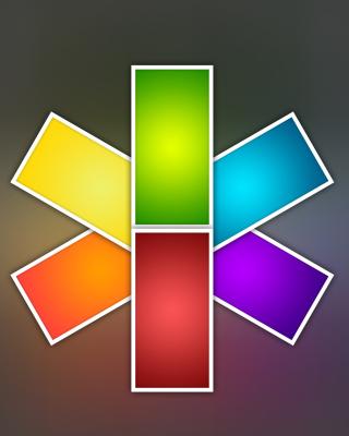 Color Kaleidoscope - Obrázkek zdarma pro Nokia Asha 311