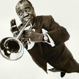 Louis Armstrong - Obrázkek zdarma pro iPad Air