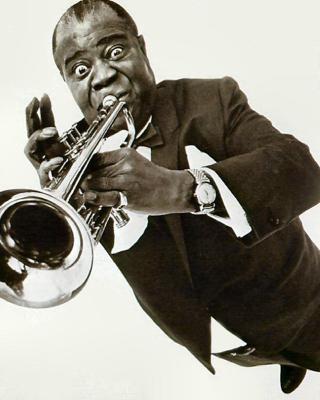 Louis Armstrong - Obrázkek zdarma pro 480x800