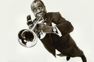 Louis Armstrong - Obrázkek zdarma pro Nokia X5-01