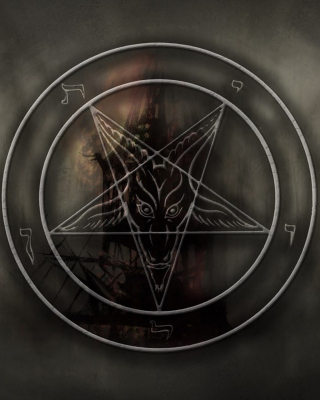 Pentagram - Obrázkek zdarma pro iPhone 6 Plus