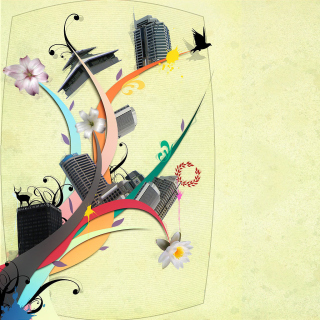 City Clipart - Obrázkek zdarma pro iPad Air