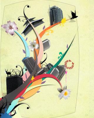 City Clipart - Obrázkek zdarma pro Nokia X6