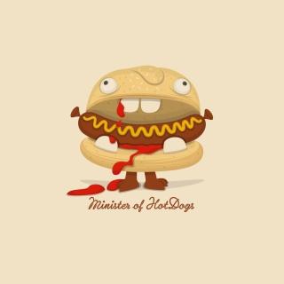 Minister Of Hot Dogs - Obrázkek zdarma pro 1024x1024