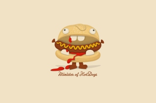 Minister Of Hot Dogs - Obrázkek zdarma pro Samsung Galaxy Nexus