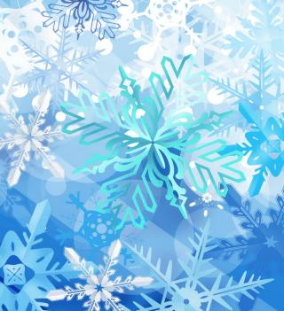 Christmas Snowflakes - Obrázkek zdarma pro iPad 3