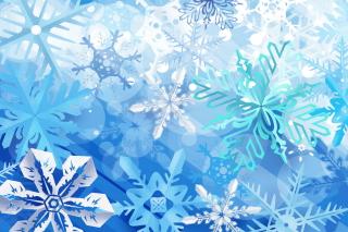 Christmas Snowflakes - Obrázkek zdarma pro 480x360