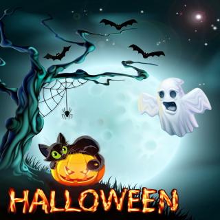 Halloween Night - Obrázkek zdarma pro iPad