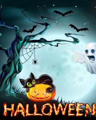 Halloween Night - Obrázkek zdarma pro 360x400