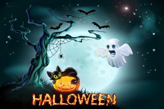 Halloween Night - Obrázkek zdarma pro Fullscreen Desktop 800x600