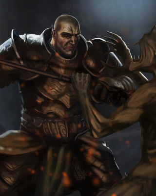 Diablo 3 - Obrázkek zdarma pro Nokia C-Series