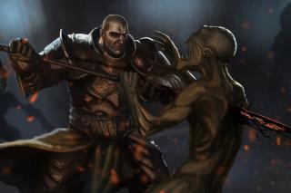 Diablo 3 - Obrázkek zdarma pro Fullscreen Desktop 800x600
