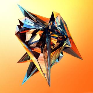 Colorful fractal - Obrázkek zdarma pro iPad mini 2