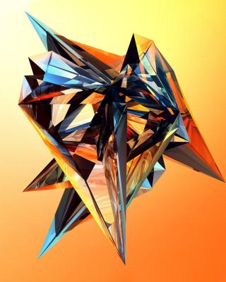 Colorful fractal - Obrázkek zdarma pro 240x432