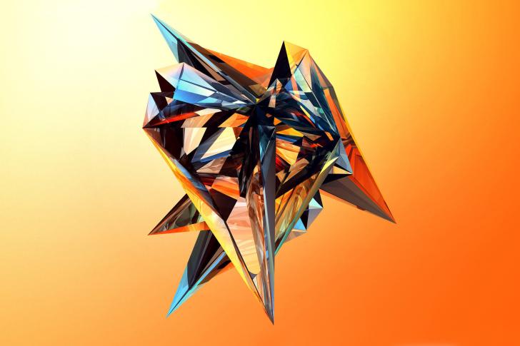 Colorful fractal wallpaper