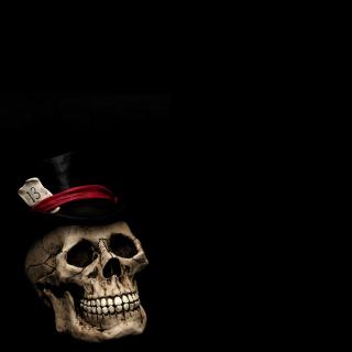 Lucky Skull - Obrázkek zdarma pro iPad Air