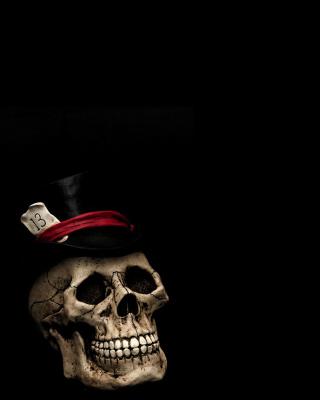 Lucky Skull - Obrázkek zdarma pro Nokia 206 Asha