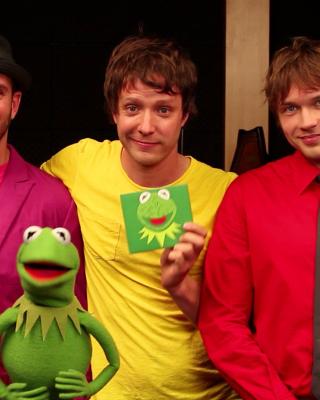 OK Go American Music Band - Obrázkek zdarma pro Nokia Asha 300