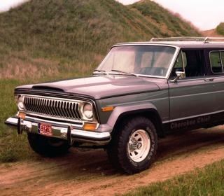 1976 Jeep Cherokee - Obrázkek zdarma pro iPad