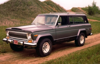 1976 Jeep Cherokee - Obrázkek zdarma pro Nokia XL