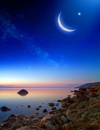 Moonlight - Obrázkek zdarma pro Nokia X7