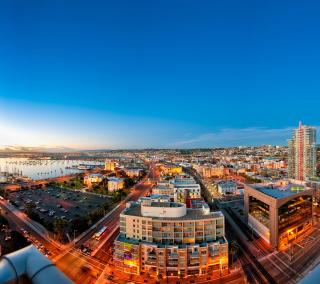Russian City View - Obrázkek zdarma pro iPad mini