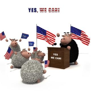 Yes We Can - Obrázkek zdarma pro 1024x1024