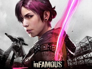 Free InFAMOUS First Light Picture for Android, iPhone and iPad