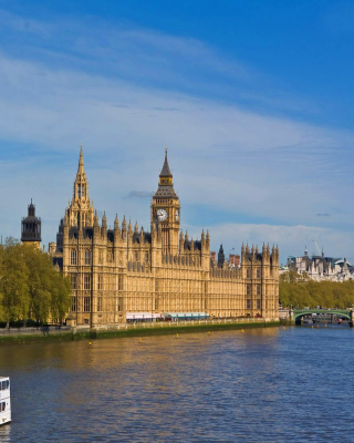 Palace of Westminster - Obrázkek zdarma pro Nokia Asha 310