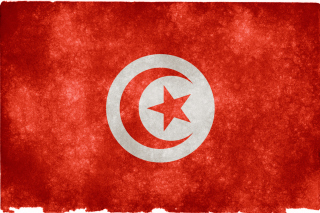 Tunisia Flag Background for Android, iPhone and iPad