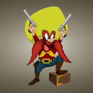Looney Tunes   Yosemite Sam - Obrázkek zdarma pro 1024x1024