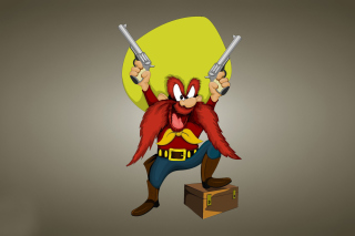 Looney Tunes   Yosemite Sam - Obrázkek zdarma pro Sony Xperia Tablet S