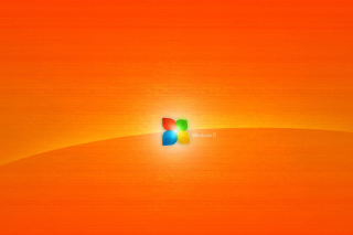 Windows 8 Orange Picture for Android, iPhone and iPad
