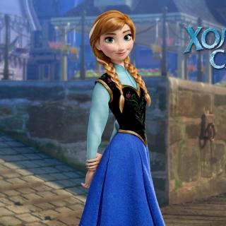 Frozen Disney Cartoon 2013 - Obrázkek zdarma pro 208x208