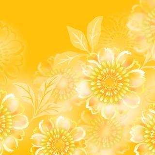 Yellow Pattern - Obrázkek zdarma pro iPad
