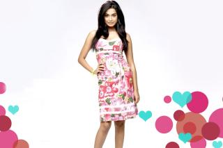 Sarah Jane Dias Indian Host - Obrázkek zdarma pro Samsung Galaxy Ace 3