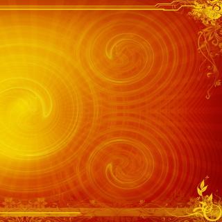 Orange Pattern Emboss - Obrázkek zdarma pro 128x128