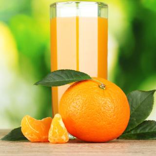 Orange and Mandarin Juice - Obrázkek zdarma pro iPad 2